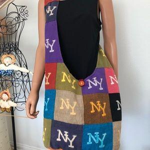 Messenger Bag Cotton NY Crossbody Bohemian Nepal
